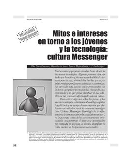 cultura Messenger - Revista Docencia