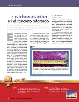 La carbonatación - Instituto Mexicano del Cemento y del Concreto