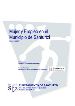 2009 - Mujer y Empleo en el Municipio de Santurtzi (PDF 1,24Mb)