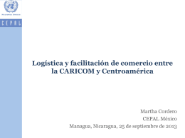 caricom - Comisión Económica para América Latina y el Caribe