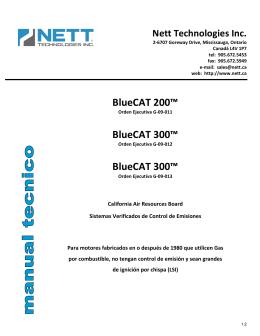 Manual Tecnico - BlueCAT - v1.2.1 _2012-07-20_