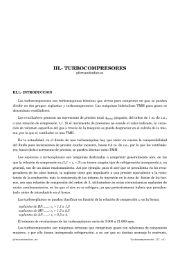 turbocompresores
