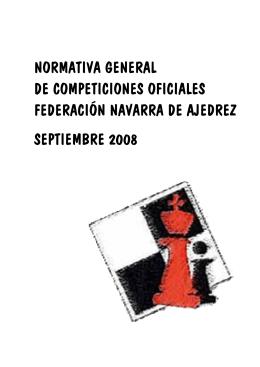 Normativa General de Competiciones FNA 2007-2008