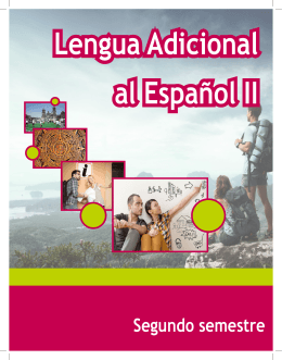 Lengua Adicional al Español II