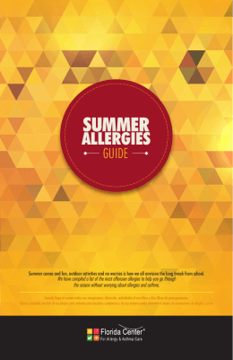 SUMMER - Florida Center For Allergy & Asthma Care