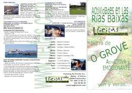 Camping Os Fieitás SL Balea – O Grove 36988 Pontevedra Tel.:986