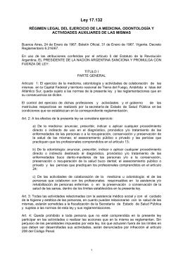 Ley 17.132 - Gobierno de la Ciudad Autónoma de Buenos Aires