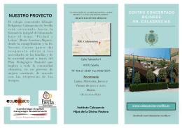 Carta de Servicios - Colegio RR Calasancias