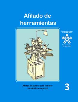Afilado de buriles - Repositorio Institucional del Servicio Nacional