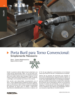 Porta Buril para Torno Convencional: