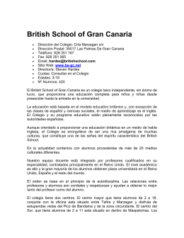 British School of Gran Canaria