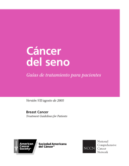 NCCN Breast Cancer Treatment Guidelines (Spanish)