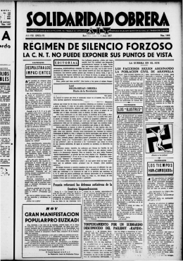 REQIMEN DE SILENCIO FORZOSO