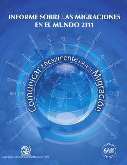 Informe Sobre Las Migraciones En El Mundo 2011