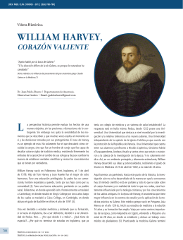 WILLIAM HARVEY, - Clínica Las Condes