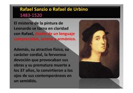 Rafael Sanzio - Espacio del Arte