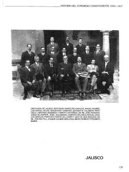 Biografías C. Diputados por el Edo. de Jalisco