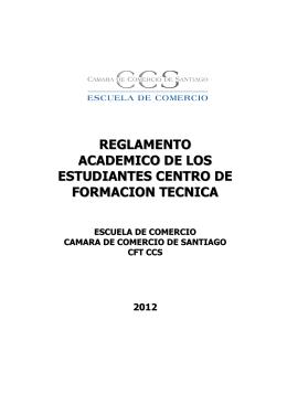 Reglamento Académico CFT CCS