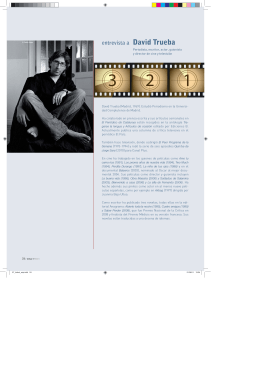 entrevista a David Trueba