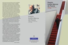 Premio Emilio Alarcos de Poesía Premio Emilio Alarcos de Poesía