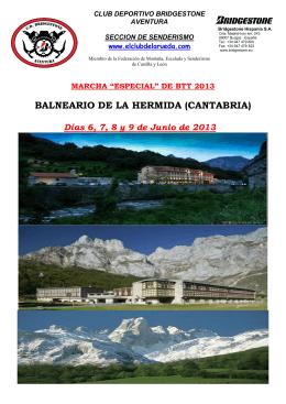 BALNEARIO DE LA HERMIDA (CANTABRIA)