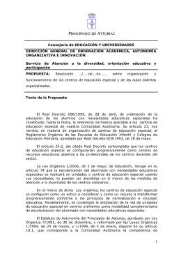 resolucion centros EE - Colegio Oficial de Psicólogos del Principado