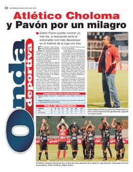 Atlético Choloma y Pavón por un milagro
