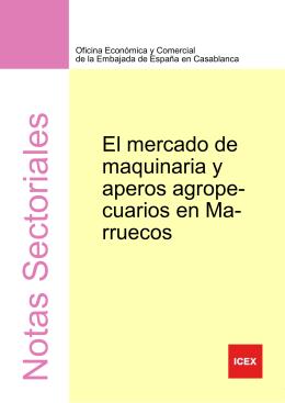 Marruecos Maquinaria Agrícola 2012