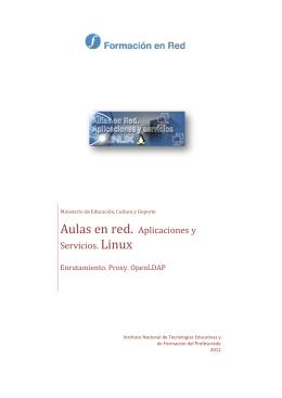 Enrutamiento, proxy y OpenLDAP