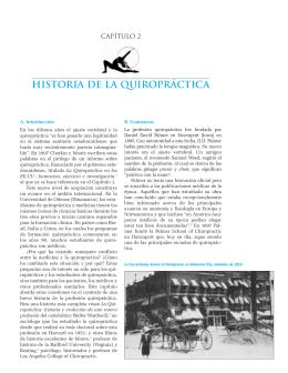 historia de la quiropráctica