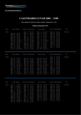 Calendario Lunar Chile