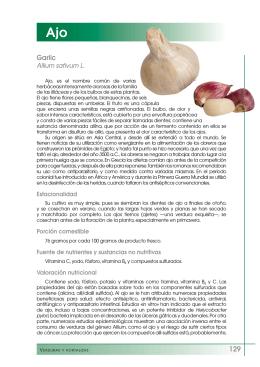 Ajo - Fundación Española de la Nutrición