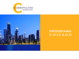 PROGRAMA CHICAGO - Cosmopolitan Incentives