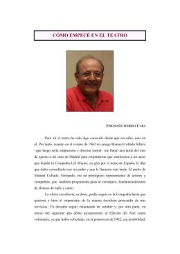 Testimonio de Emilio Gutiérrez Caba