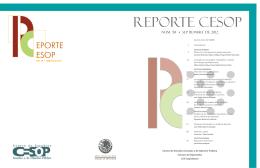 Reporte CESOP No. 58