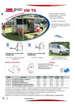 F45 VW T5 - Caravanas Vendrell