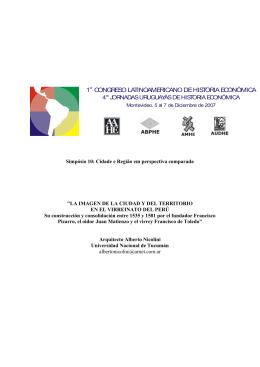 1 congreso latinoamericano de historia económica