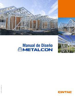 Manual de Diseño Metalcon
