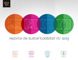 Reporte Sustentabilidad 2013