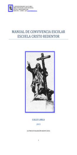 manual de convivencia escolar escuela cristo redentor