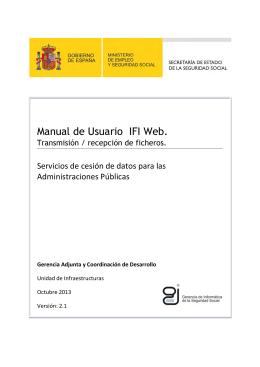Manual de Usuario - Sede Electrónica de la Seguridad Social
