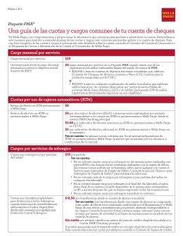 Paquete PMA: Una guía de las cuotas y cargos