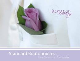 Standard Boutonnières