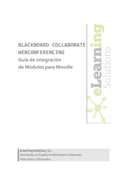 blackboard collaborate webconferencing