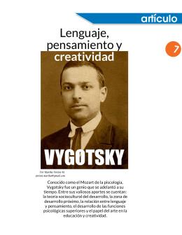 Vygotsky: lenguaje, pensamiento y creatividad
