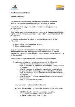 Clasificaciones de Voleibol Voleibol