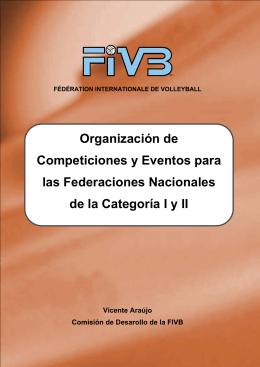 Organización de Competiciones y Eventos para las