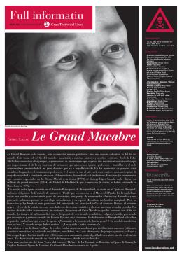 Le Grand Macabre - Gran Teatre del Liceu