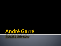 André Garré