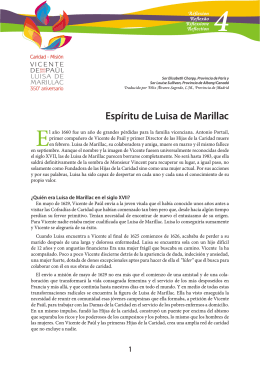 Descagar Ficha 4 : Espíritu de Luisa de Marillac